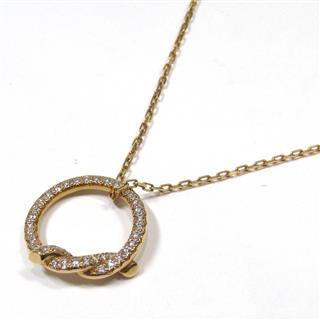 カルティエ (Cartier) アントルラセ パヴェダイヤモンド ネックレス