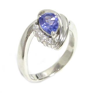 ジュエリー (JEWELRY) タンザナイト ダイヤモンドリング 指輪