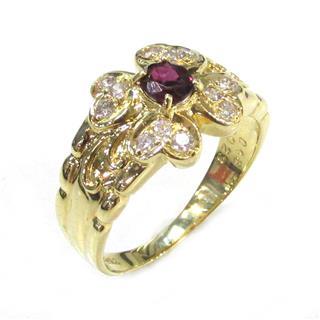 ジュエリー (JEWELRY) ルビーリング ダイヤモンド 指輪