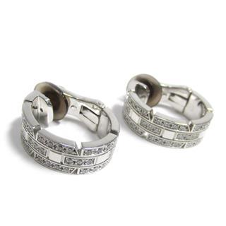 カルティエ (Cartier) タンクフランセーズ ダイヤモンド イヤリング
