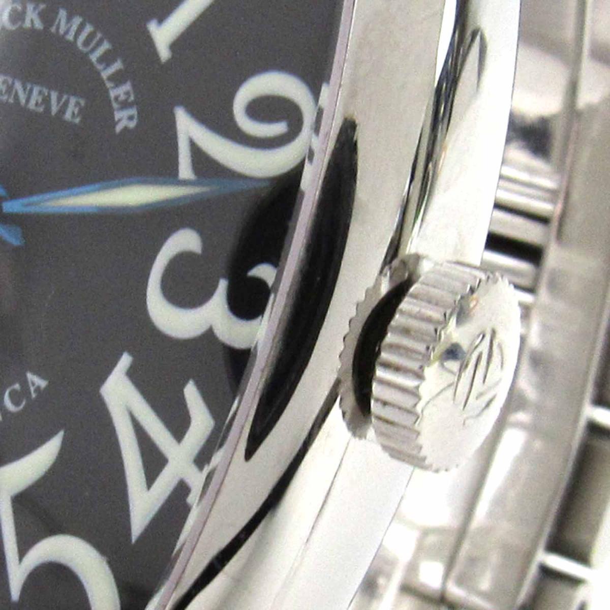 FRANCK MULLER 時計 5850CASA カサブランカ ウォッチ 腕時計/メンズ