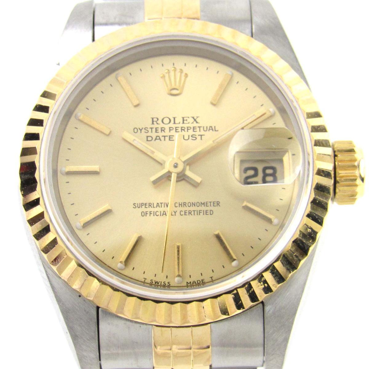 ROLEX 時計 69173 デイトジャスト ウォッチ 腕時計/レディース
