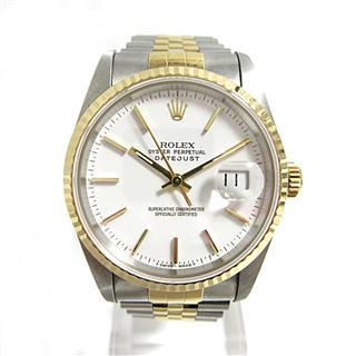 ロレックス (ROLEX) デイトジャスト 腕時計 ウォッチ メンズ 16233