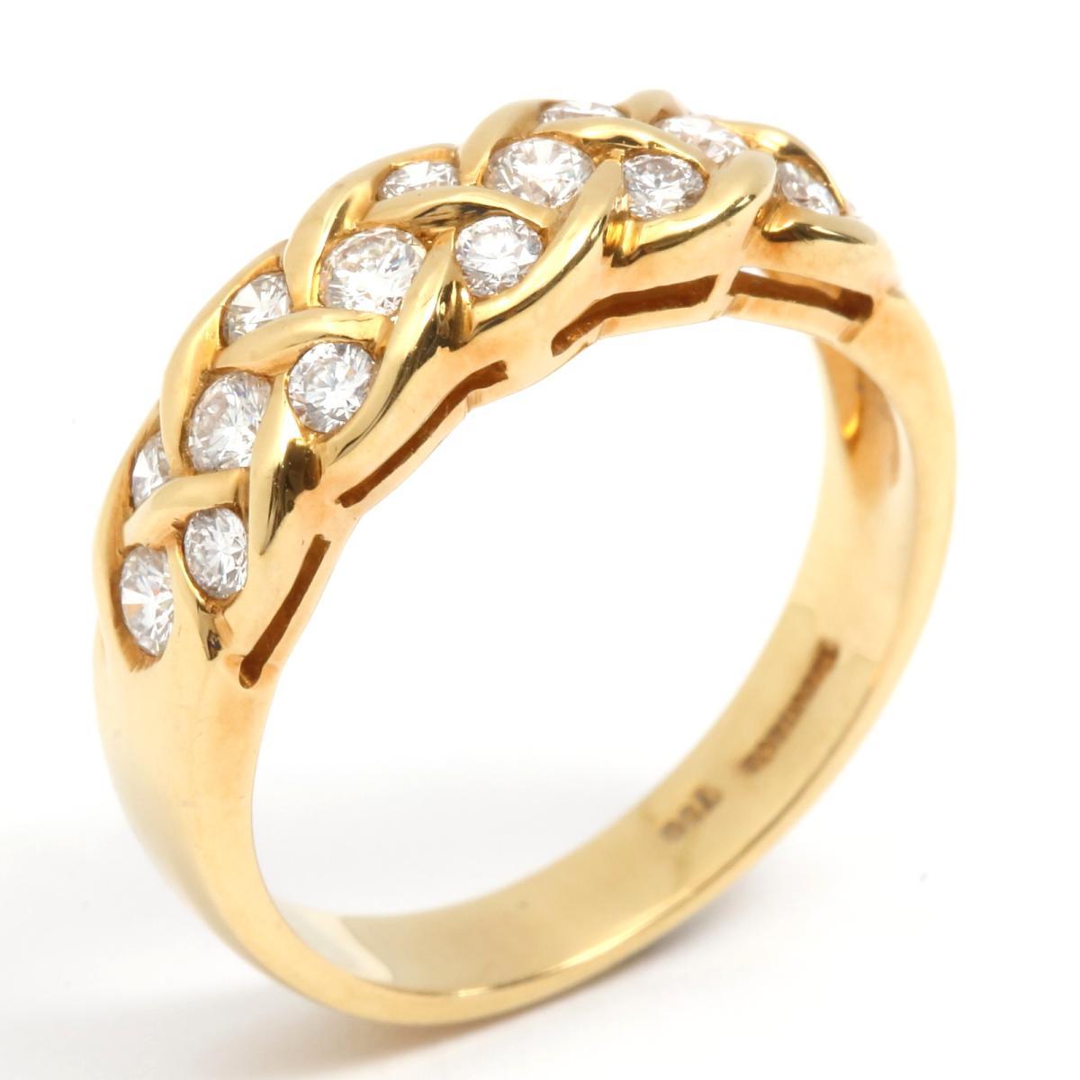 ダイヤモンド リング 指輪 13.5号