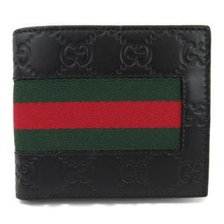 グッチ (GUCCI) グッチシマ 二つ折財布 408826