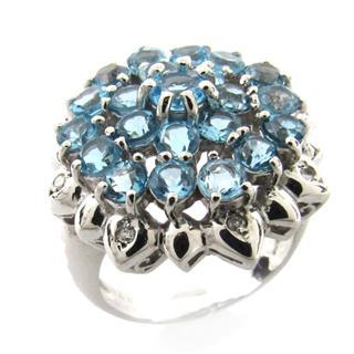 ジュエリー (JEWELRY) ブルートパーズ ダイヤモンド リング 指輪