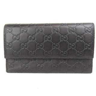グッチ (GUCCI) グッチシマ 三つ折長財布
