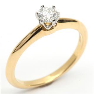 ティファニー (TIFFANY&CO) ソリティア ダイヤモンド リング 指輪