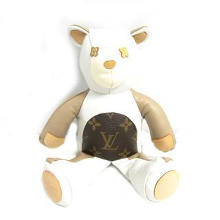 ルイヴィトン (LOUIS VUITTON) ドゥドゥルイ テディベア クマ 熊 人形 GI0142
