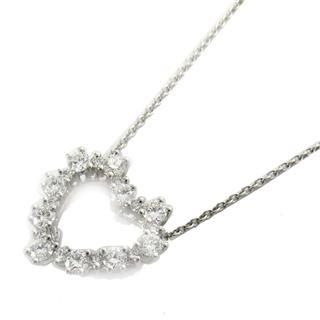 ティファニー (TIFFANY&CO) センチメンタルハートダイヤモンドネックレス