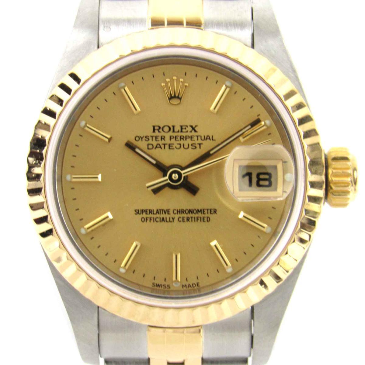 ROLEX 時計 79173 デイトジャスト ウォッチ 腕時計