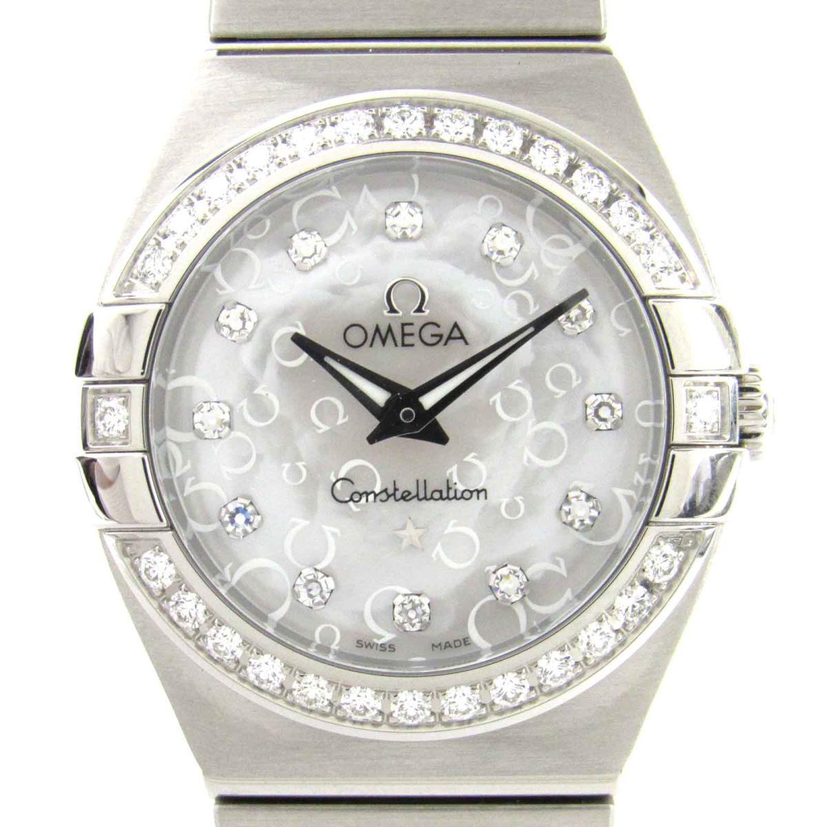 コンステレーション ダイヤベゼル 12Pダイヤモンド/腕時計