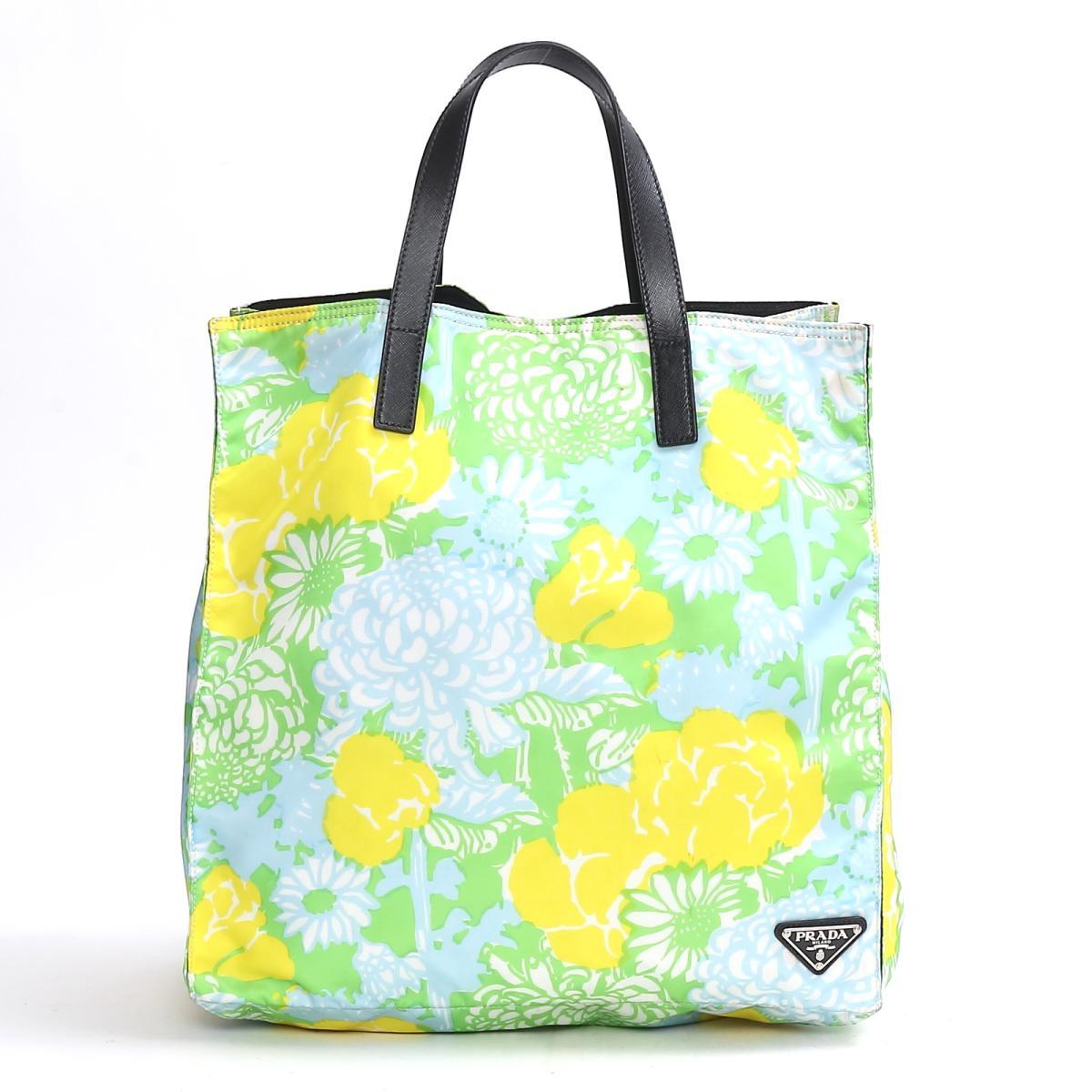 トート ハンドバッグ/花柄 フラワー