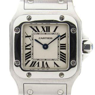 カルティエ (Cartier) サントス ガルベSM ウォッチ 腕時計  W20056D6