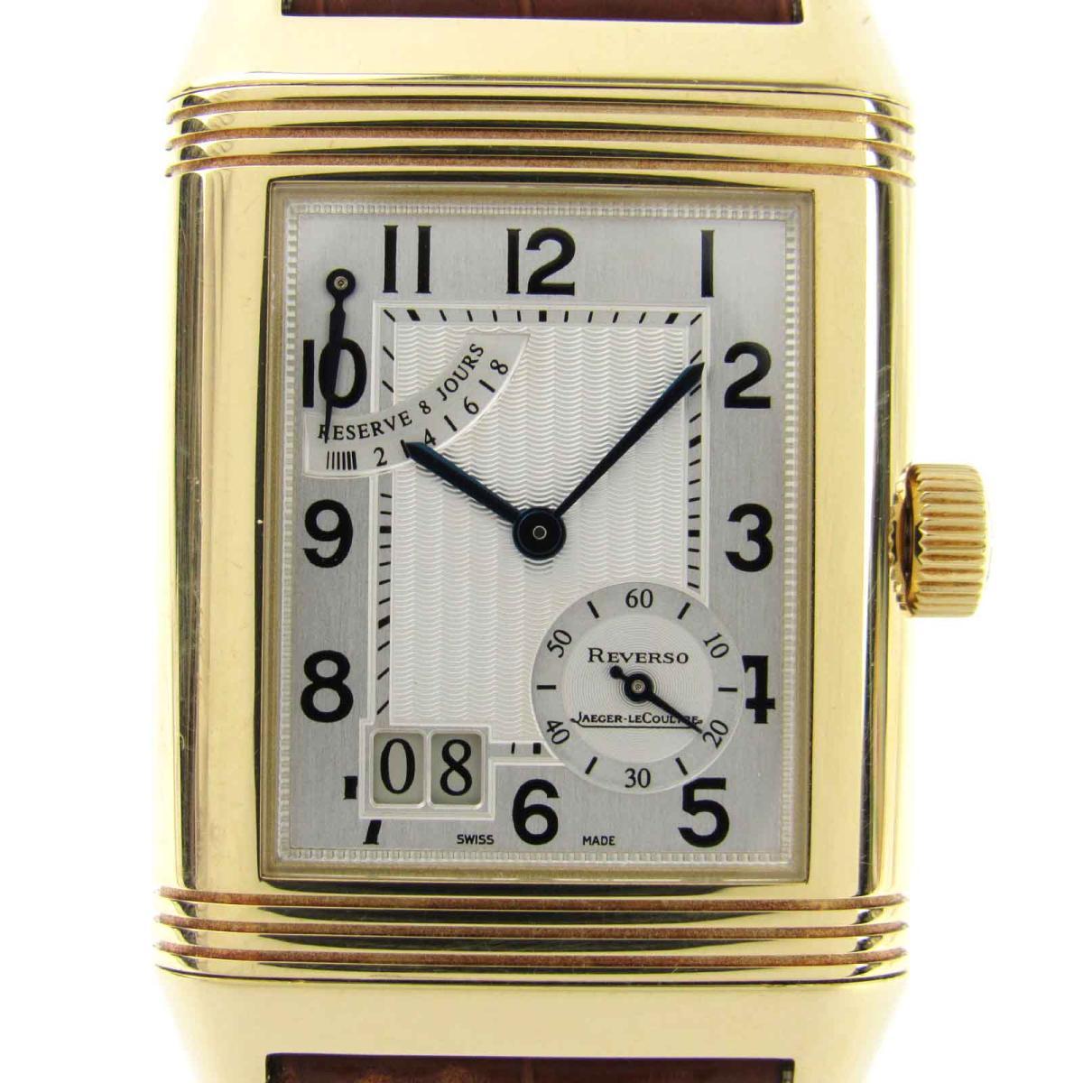 レベルソ グランドデイト ウォッチ 腕時計