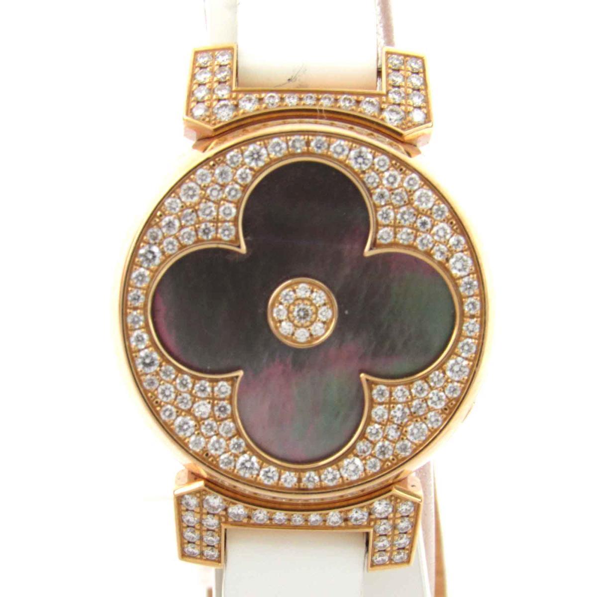タンブールビジュシークレット ダイヤベゼル・ダイヤル ウォッチ 腕時計