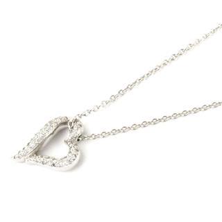 ブシュロン (BOUCHERON) ハート ダイヤモンド ネックレス