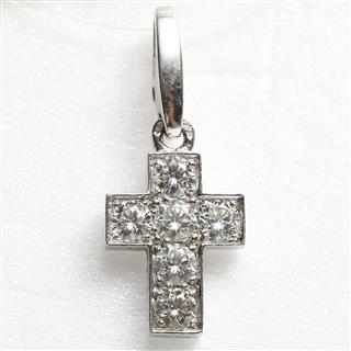 カルティエ (Cartier) クロスチャーム ダイヤモンド ミディアム トップ