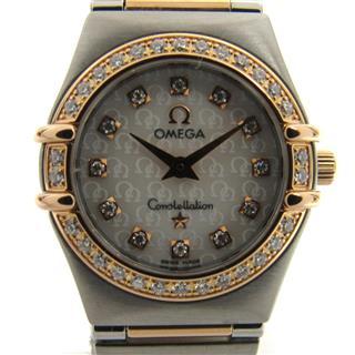 オメガ (OMEGA) コンステレーション ミニ ダイヤベゼル ウォッチ 腕時計 1360.75