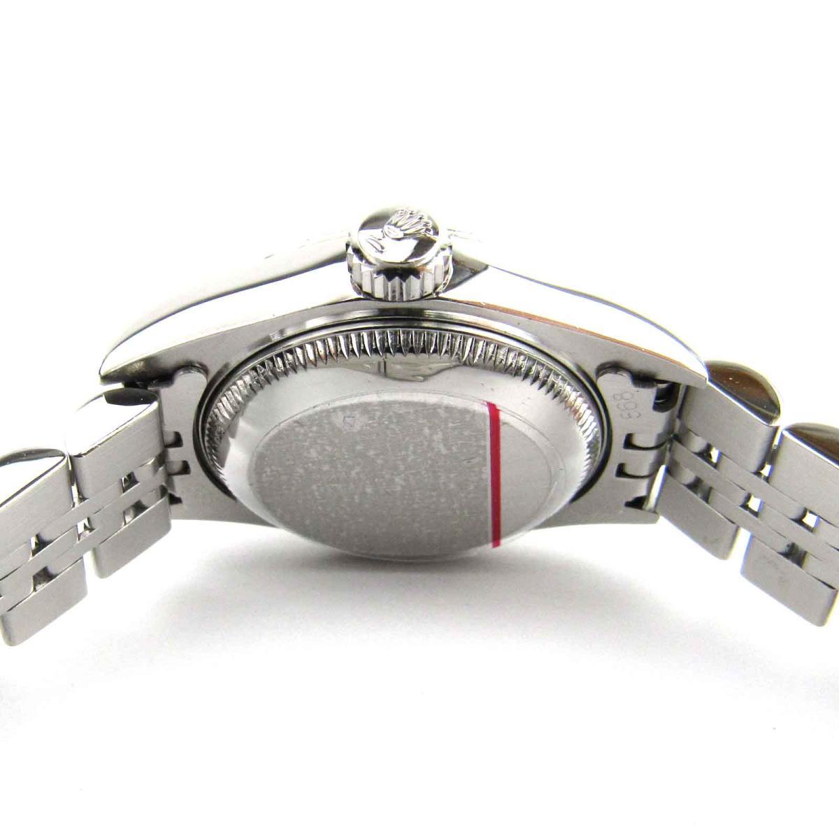 ROLEX 時計 69174G デイトジャスト 10Pダイヤモンド ウォッチ 腕時計