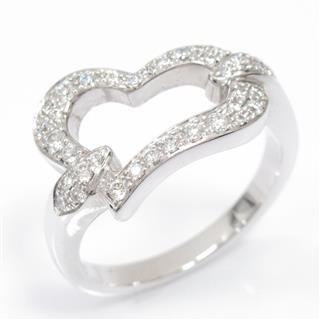ピアジェ (PIAGET) ハートダイヤリング 指輪