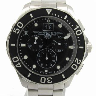 タグ・ホイヤー (TAG HEUER) アクアレーサー クロノ ワンピース限定 ウォッチ 腕時計 CAN1012