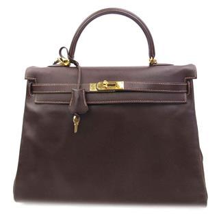 エルメス (HERMES) ケリー35 (内縫い)2wayハンドバッグ