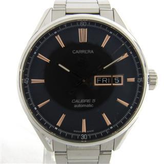 タグ・ホイヤー (TAG HEUER) カレラ キャリバー5 デイデイト ウォッチ 腕時計 WAR201C.BA0723