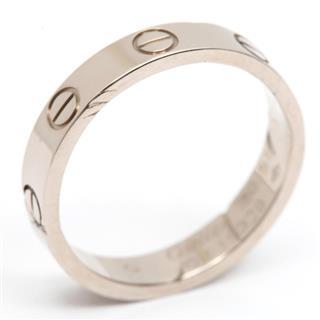カルティエ (Cartier) ミニ ラブ リング 指輪 LOVE