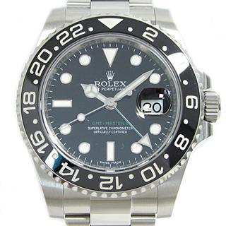 ロレックス (ROLEX) GMTマスターⅡ 腕時計 ウォッチ メンズ 116710LN