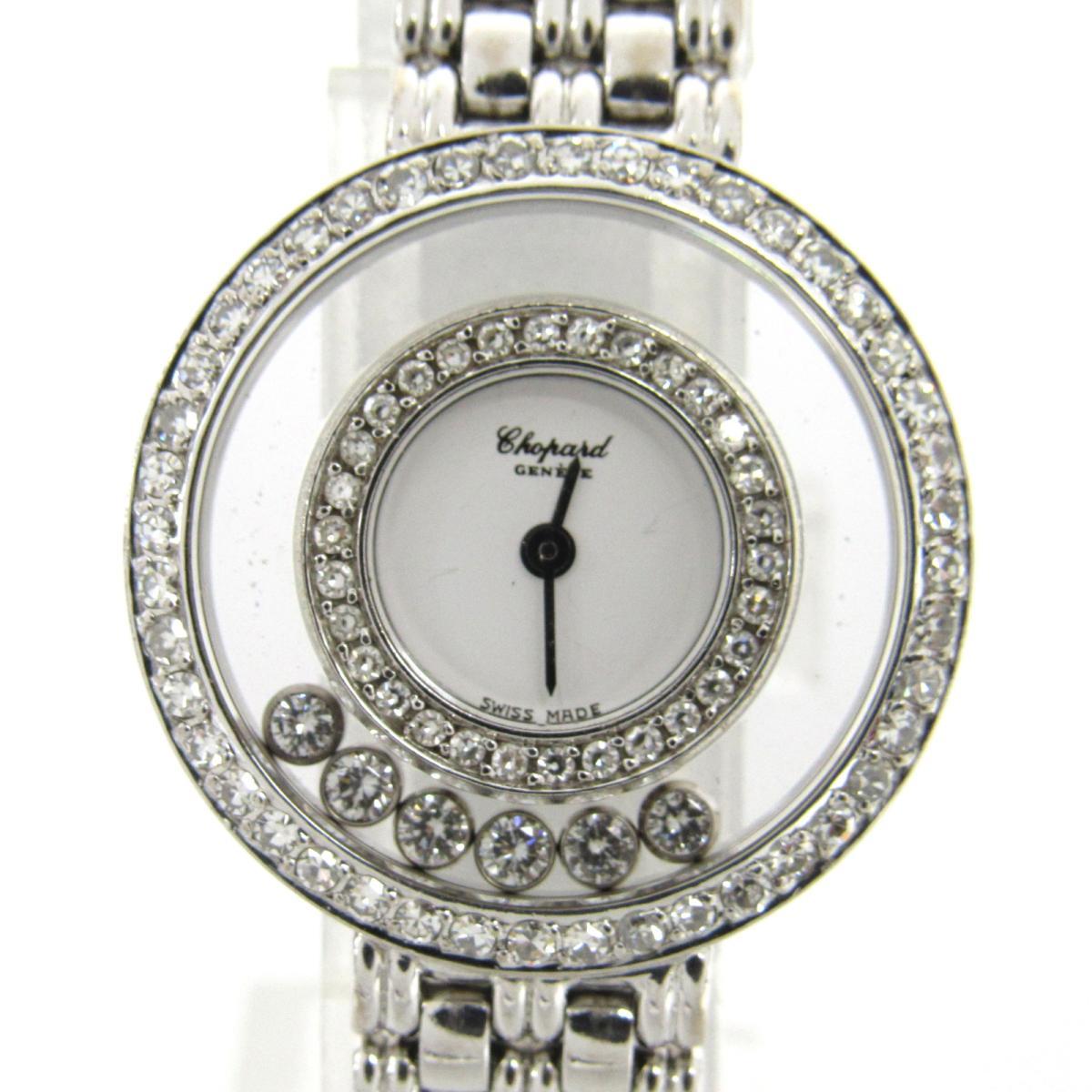 ハッピーダイヤモンド6P ダイヤベゼル ウォッチ 腕時計