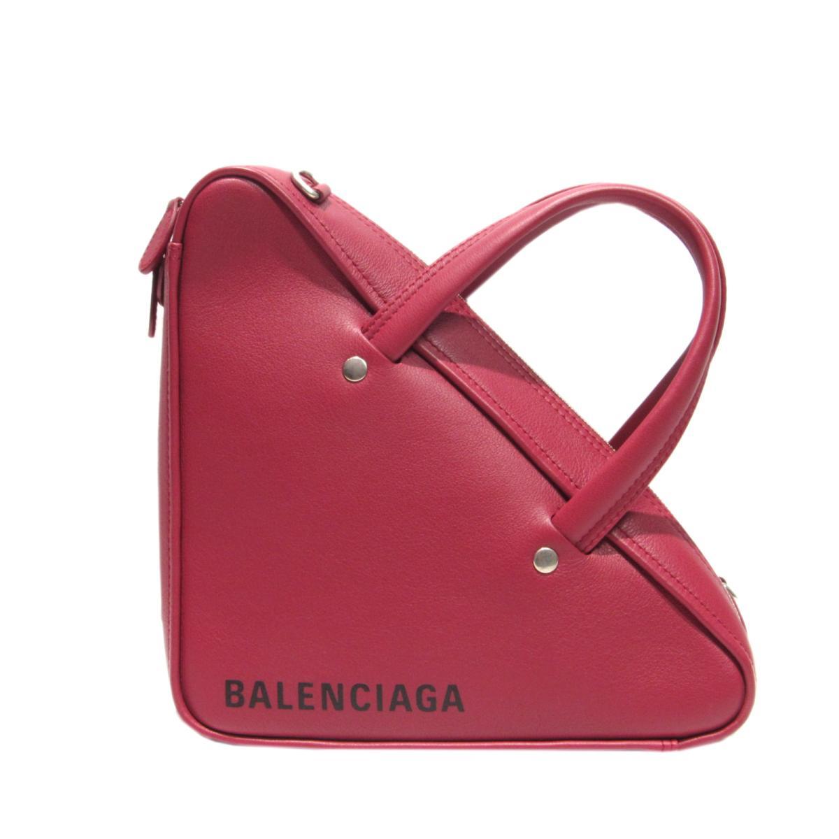 BALENCIAGA バッグ  トライアングルダッフルXS 2wayショルダーバッグ