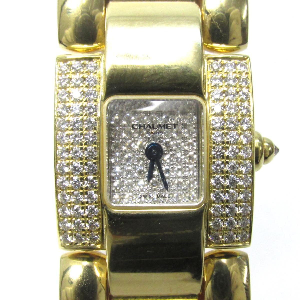 ミヘーウィ ダイヤモンド 時計/レディース