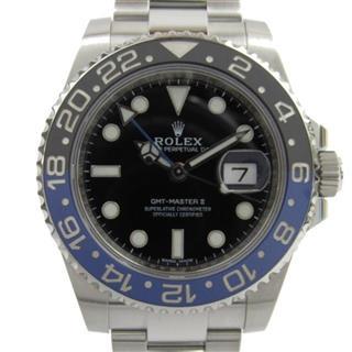 ロレックス (ROLEX) GMTマスター2 ウォッチ 腕時計 116710BLNR