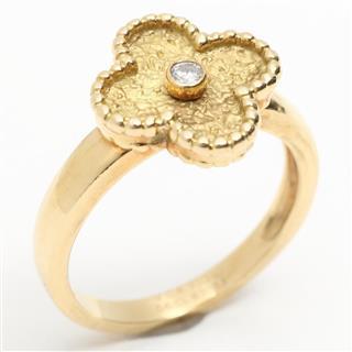ヴァンクリーフ&アーペル (Van Cleef & Arpels) ヴィンテージアルハンブラ リング 指輪