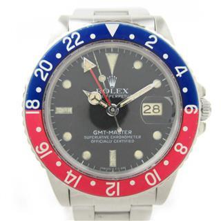 ロレックス (ROLEX) GMTマスター1 ウォッチ 腕時計 16570 66番
