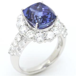 ジュエリー (JEWELRY) タンザナイト ダイヤモンド リング 指輪