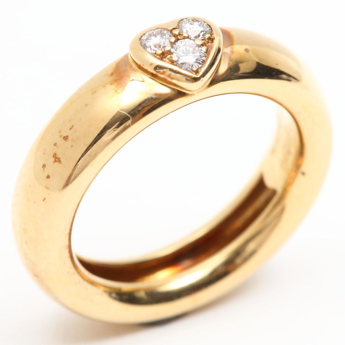 フレンドシップ ダイヤモンド リング 指輪 10号