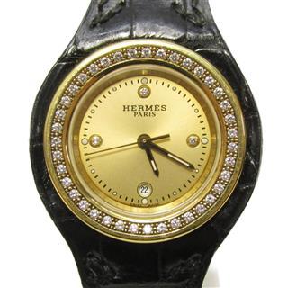 エルメス (HERMES) アーネ ベゼルダイヤモンド 3Pダイヤモンド 時計 ウォッチ HA1.286