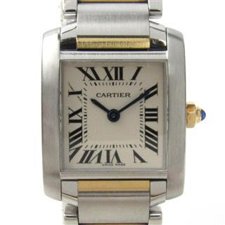 カルティエ (Cartier) タンクフランセーズSM ウォッチ 腕時計 W51007Q4
