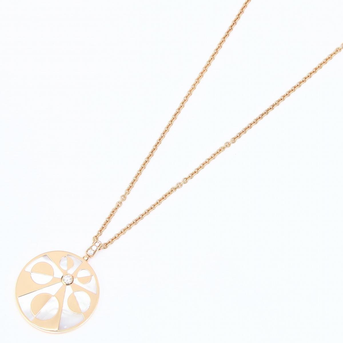 インタルシオ ダイヤモンド ネックレス