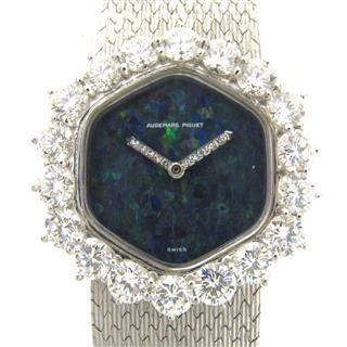オーデマ・ピゲ (AUDEMARS PIGUET) ダイヤベゼル オパール ウォッチ 腕時計
