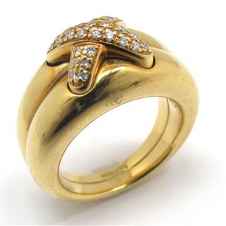 ショーメ (CHAUMET) リアン ダイヤモンド リング 指輪