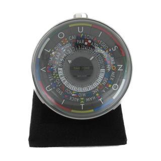 ルイヴィトン (LOUIS VUITTON) エスカル テーブルクロック 置時計 Q5Q000