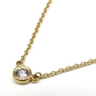 ティファニー (TIFFANY&CO) バイザヤード ネックレス ペンダント 1P ダイヤモンド