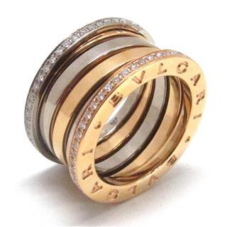 ブルガリ (BVLGARI) B-zero1 リング 指輪 ビーゼロワン ダイヤモンド Mサイズ #51