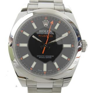 ロレックス (ROLEX) ミルガウス ウォッチ 腕時計 116400 V番