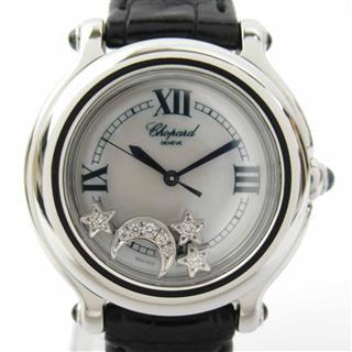 ショパール (Chopard) ハッピースポーツ ムーンスター ウォッチ 腕時計 27/8238-23