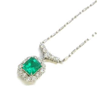 ジュエリー (JEWELRY) エメラルド ダイヤモンド ネックレス ペンダント