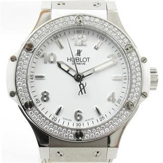 ウブロ (HUBLOT) ビッグバン サンモリッツ ダイヤベゼル  ウォッチ 腕時計 361.SE.2010.RW.1